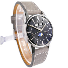 Load image into Gallery viewer, Zodiac Automatic Moonphase Watch - Triple Date Steel