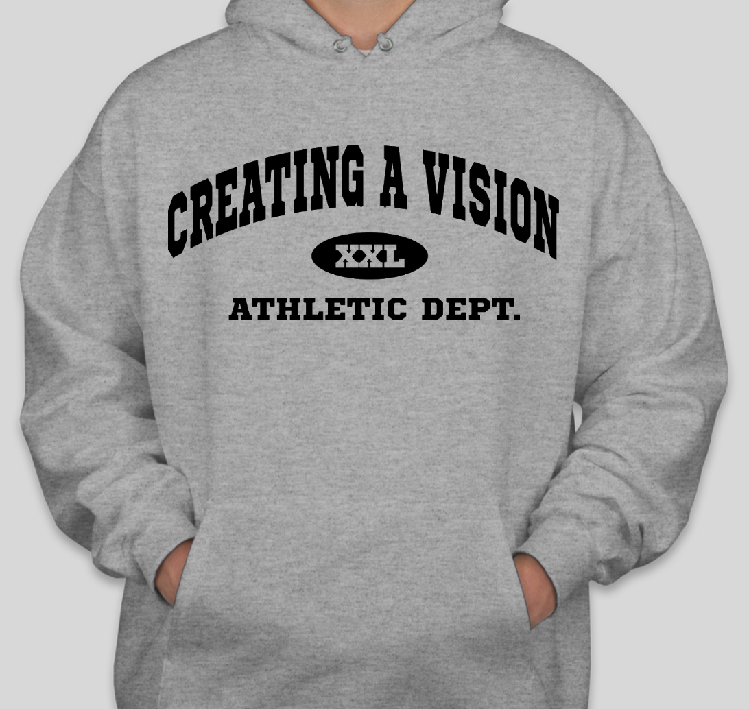 ATHLETIC GREY HOODIE