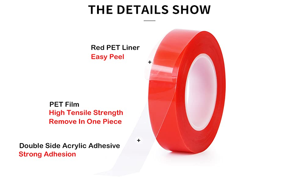 Red Mounting Tape