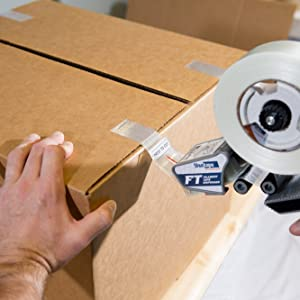 Box Sealing with Filament Tape
