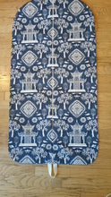 Load image into Gallery viewer, Blue Toile Hanging Garment Bag