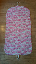 Load image into Gallery viewer, Pink Flamingo Hanging Garment Bag