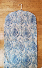 Load image into Gallery viewer, Turquoise Blue Medallion Garment Bag for Ladies