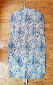 Turquoise Blue Medallion Garment Bag for Ladies