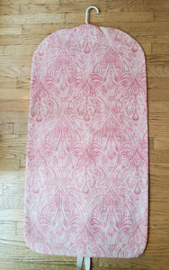 Pink Paisley Hanging Garment Bag