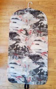 Pewter Abstract Garment Bag for Ladies