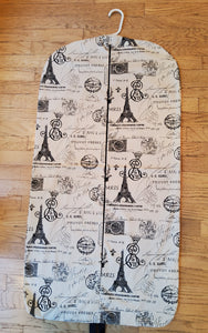 Eiffel Tower Hanging Garment Bag