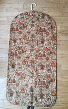 Load image into Gallery viewer, Brown Chinoiserie Garment Bag