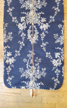 Load image into Gallery viewer, Navy Toile Hanging Garment Bag