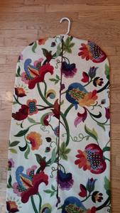Floral Garment Bag for Ladies