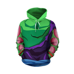 Ripped Piccolo Outfit Hoodie - DBZ Saiyan