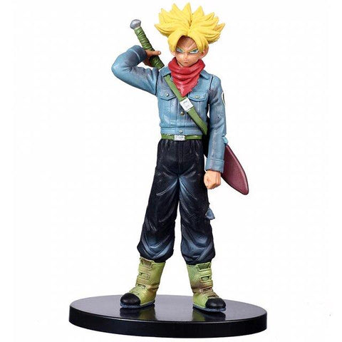 DBZ Super Saiyan 1 Trunks With His Sword Action Figure - DBZ Saiyan