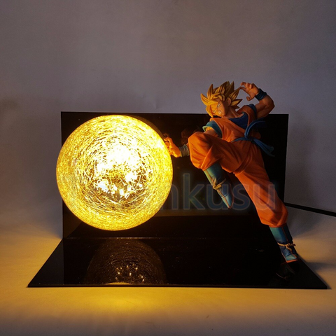 Super Saiyan Goku LED Lamp Figure - DBZ Saiyan