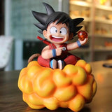 DBZ Happy Kid Goku Holding 1 Dragon Ball Action Figure - DBZ Saiyan