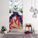 DBZ Anime Piccolo King Angry Full Print 3Pc Canvas Print - DBZ Saiyan
