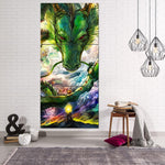 Shenron DBZ Powerful Dragon Battle 3Pc Canvas Print - DBZ Saiyan