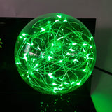 DBZ Broly Omega Blaster Green Flash Ball DIY 3D LED Light Lamp - DBZ Saiyan