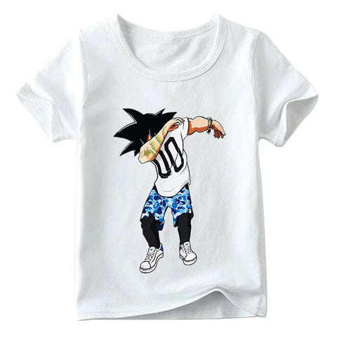 Dragon Ball Z Son Goku Dancing Switch It Up Kids T-Shirt - DBZ Saiyan