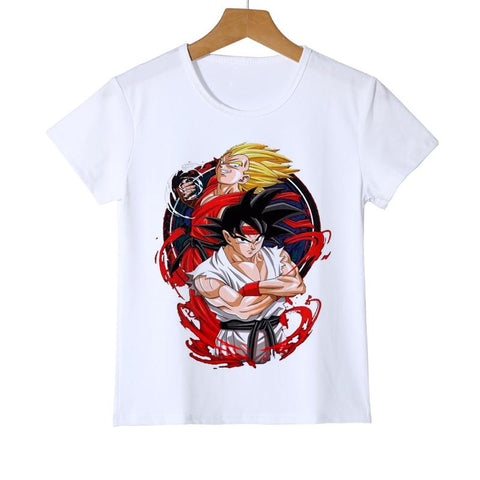 Dragon Ball Z Son Goku & Vegeta Super Saiyan 2 Kids T-Shirt - DBZ Saiyan