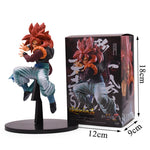 Dragon Ball Z Red Hair Gogeta Super Saiyan 4 Action Figure - DBZ Saiyan