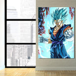 DBZ Angry Vegito Super Saiyan Fan Art 1Pc Canvas Print - DBZ Saiyan