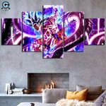 Dragon Ball Super Canvas Wall Art <br>Son Goku Light Up - DBZ Saiyan