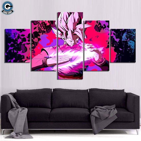 Dragon Ball Super Canvas Wall Art <br>Goku Black Blade - DBZ Saiyan