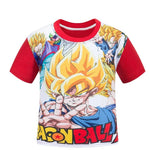 Dragon Ball Z Super Saiyan Fan Art Cool Design Kids T-Shirt - DBZ Saiyan