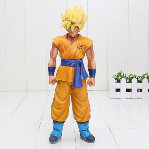 DBZ Super Saiyan Son Goku Yellow Hair Resurrection F PVC Action Figure 26cm - DBZ Saiyan