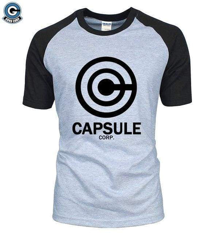 Dragon Ball Z T-Shirt <br>Capsule Corp. - DBZ Saiyan