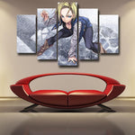 Dragon Ball Android 18 Anime Style 5pc Wall Art Decor Posters Canvas Prints - DBZ Saiyan