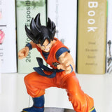 Dragon Ball Z Son Goku Kiai Attack PVC Collectible Action Figure 15cm - DBZ Saiyan