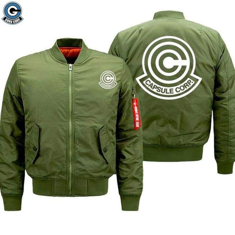 Dragon Ball Bomber Jacket Capsule Corporation - DBZ Saiyan