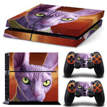 God of Destruction Lord Beerus Face Dragon Ball Skin Decal for PS4 - DBZ Saiyan