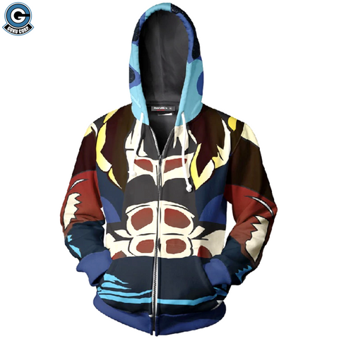 Dragon Ball Super Jacket <br>Gogeta Blue - DBZ Saiyan