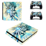 DBZ Gohan Super Saiyan Form 2 Final Blow PS4 Slim Skin - DBZ Saiyan