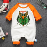 Dragon Ball Z The Frightful Shenron Long Sleeve Baby Jumpsuit - DBZ Saiyan