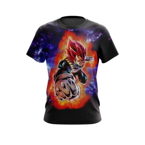(DBZ Saiyan) SSG Vegeta Legends T-Shirts - DBZ Saiyan