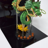 Shenron Shenlong Dragon with the Moon Display DIY Night Lamp - DBZ Saiyan
