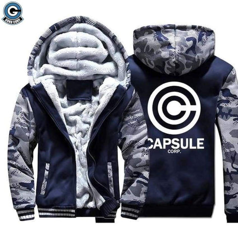 Dragon Ball Z Jacket <br>Capsule Corp (Fleece) - DBZ Saiyan