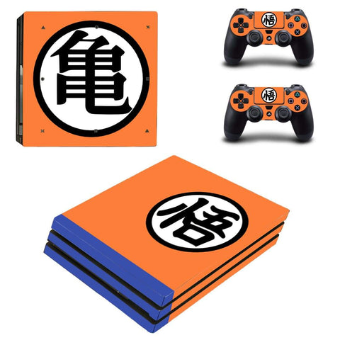 Dragon Ball Anime Master Roshi Kanji Design PS4 Pro Skin - DBZ Saiyan