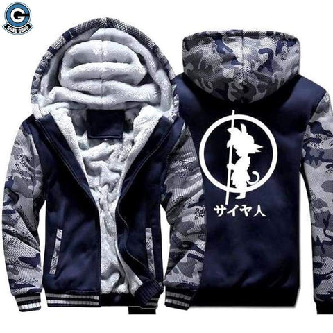 Dragon Ball Z Winter Jacket Kid Goku - DBZ Saiyan
