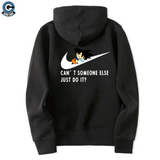 Dragon Ball Z Hoodie <br>Kid Goku Nike - DBZ Saiyan