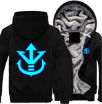 Luminous Saiyan Royal Crest Jacket - DBZ Saiyan