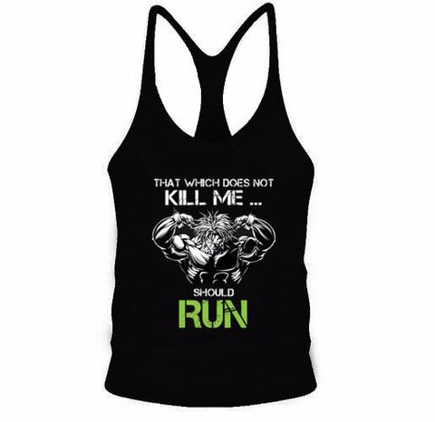 That Which Does Not Kill Me.. Tanktop - DBZ Saiyan