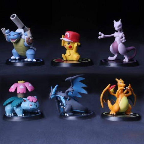 Pokemon Figures - DBZ Saiyan