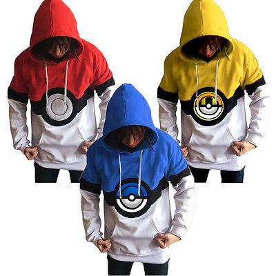Pokemon Go Hoodies - DBZ Saiyan