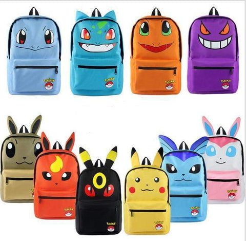 Pokemon Backpack/Bag - DBZ Saiyan