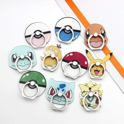 Phone Finger Ring Pokemon - DBZ Saiyan