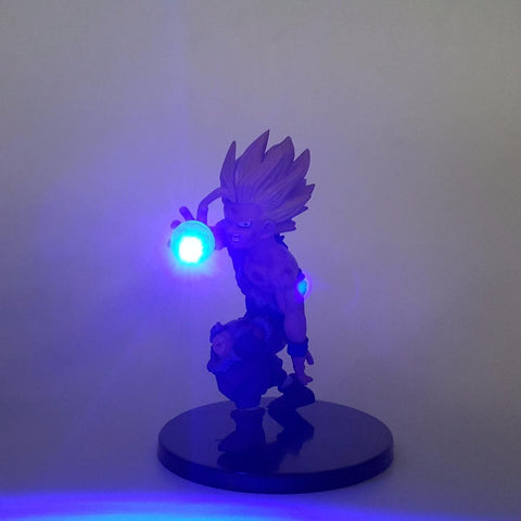 DBZ Wounded Super Saiyan Gohan Kamehameha Wave DIY 3D LED Light Lamp - DBZ Saiyan